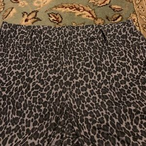Faded Glory Pants - Faded glory animal print jeggings